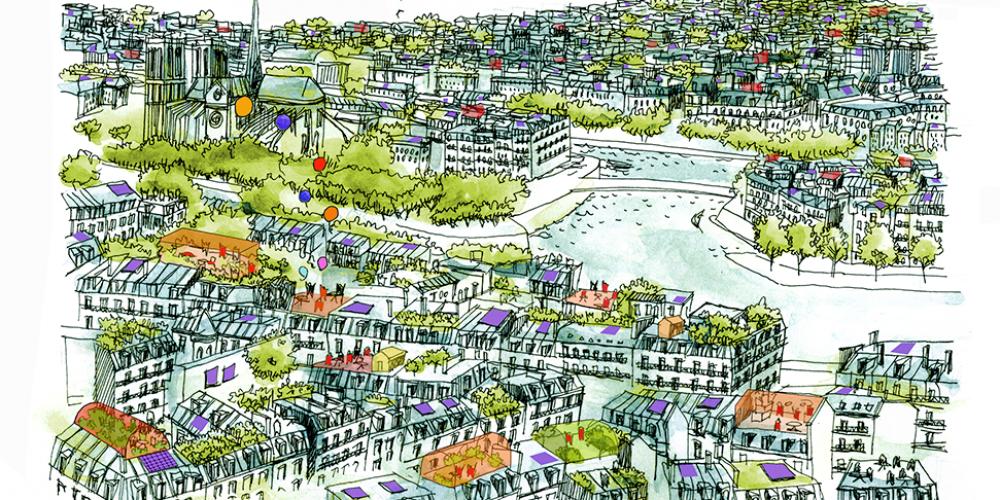 Paris change d'ère, vers la neutralité carbone en 2050