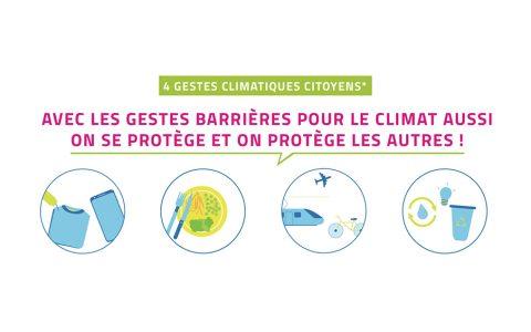 Gestes barrièresclimat: adoptons-les pour sauver des vies