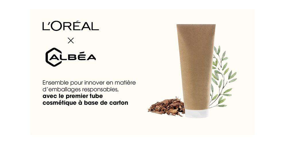 Remplacer le plastique par du papier pour les emballages cosmétiques : le pari d'Albéa et L'Oréal