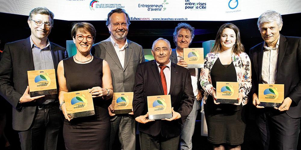 Trophées du Leader Responsable : Laurence Vandaele reçoit le Prix coup de coeur de la rédaction