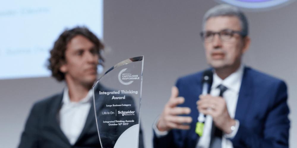 Trois membres du C3D récompensés lors de la cérémonie des Integrated Thinking Awards 2018