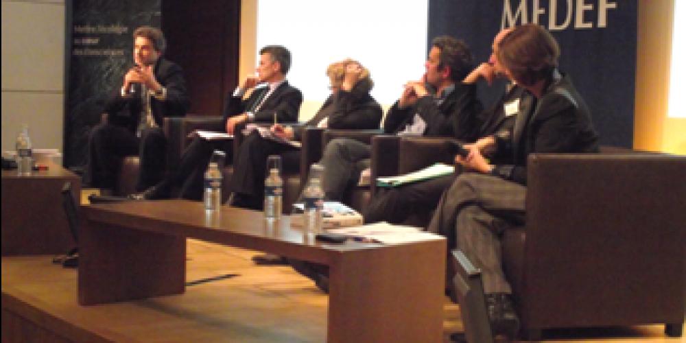 Conférence « Vers une prospérité durable » – 6 novembre 2012