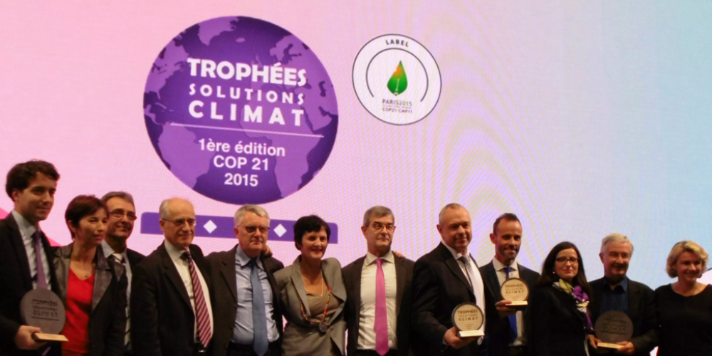 Trophées des Solutions Climat et actions Climat du C3D en 2015
